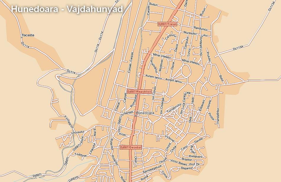 Hunedoara Judetul Hunedoara Transilvania Bazinul Carpatic