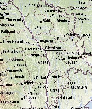 Cazare Romania - Harta Turistica