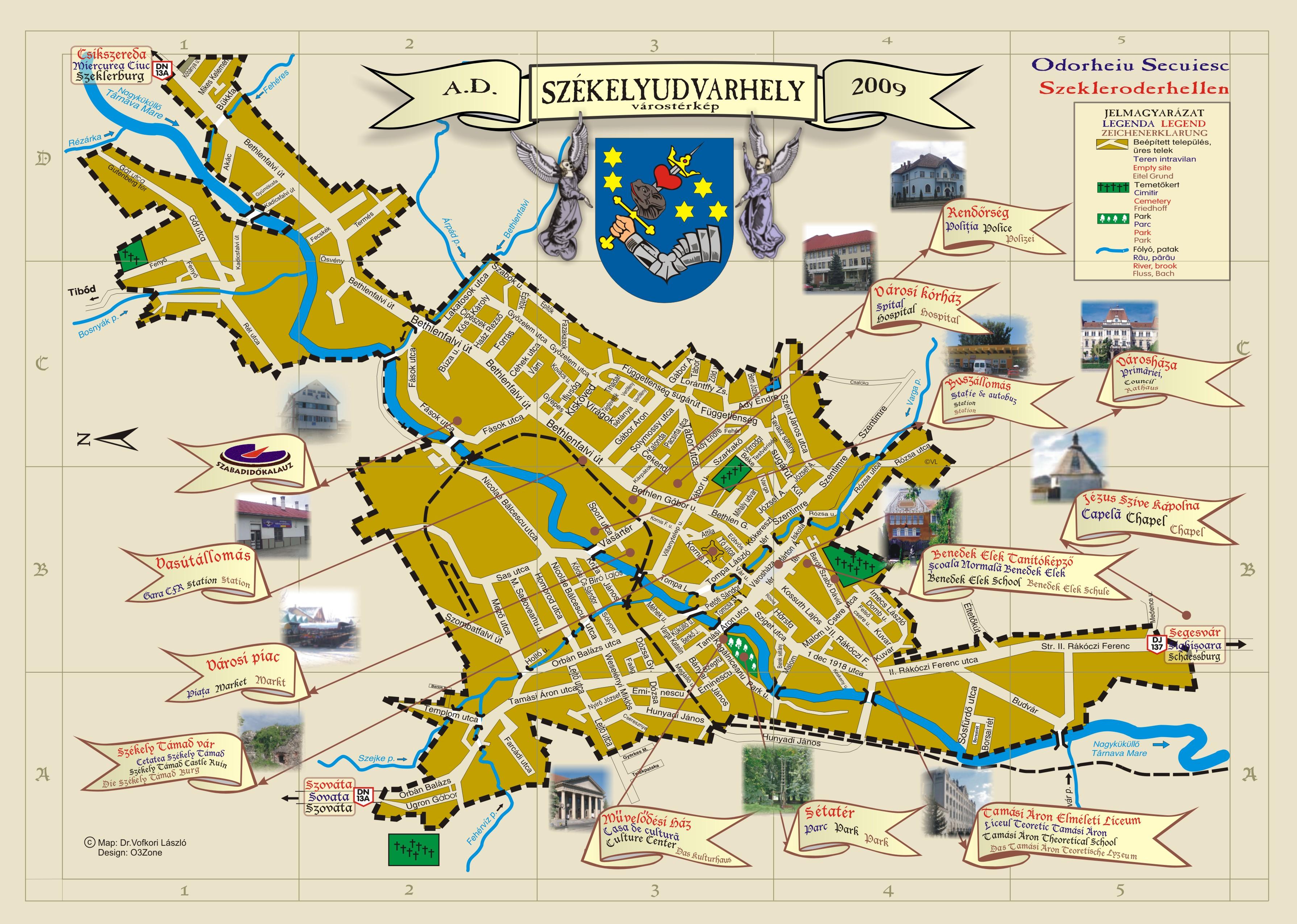 Harta Harta Turistica Slanic Moldova