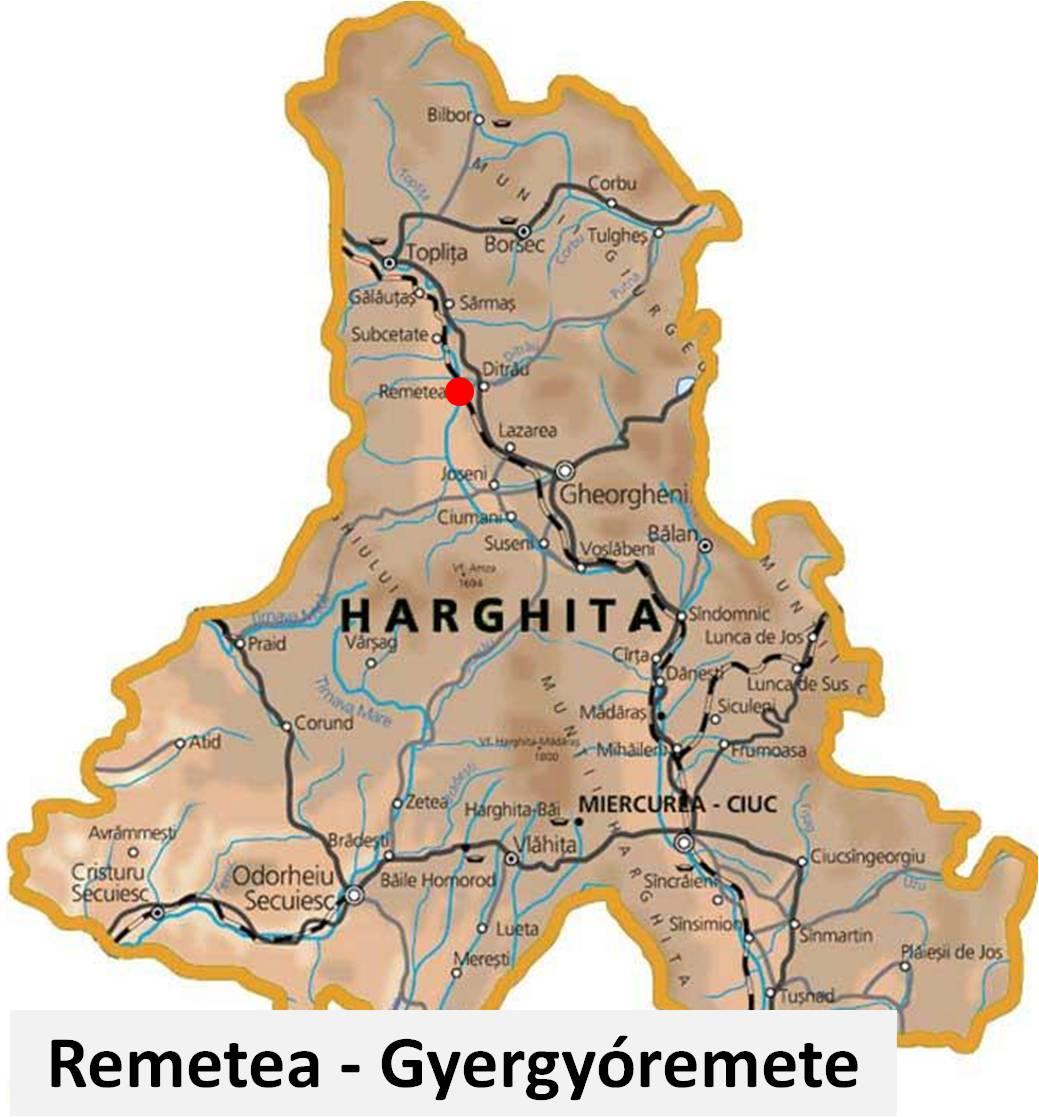 Remetea Judetul Harghita Transilvania Bazinul Carpatic Romania