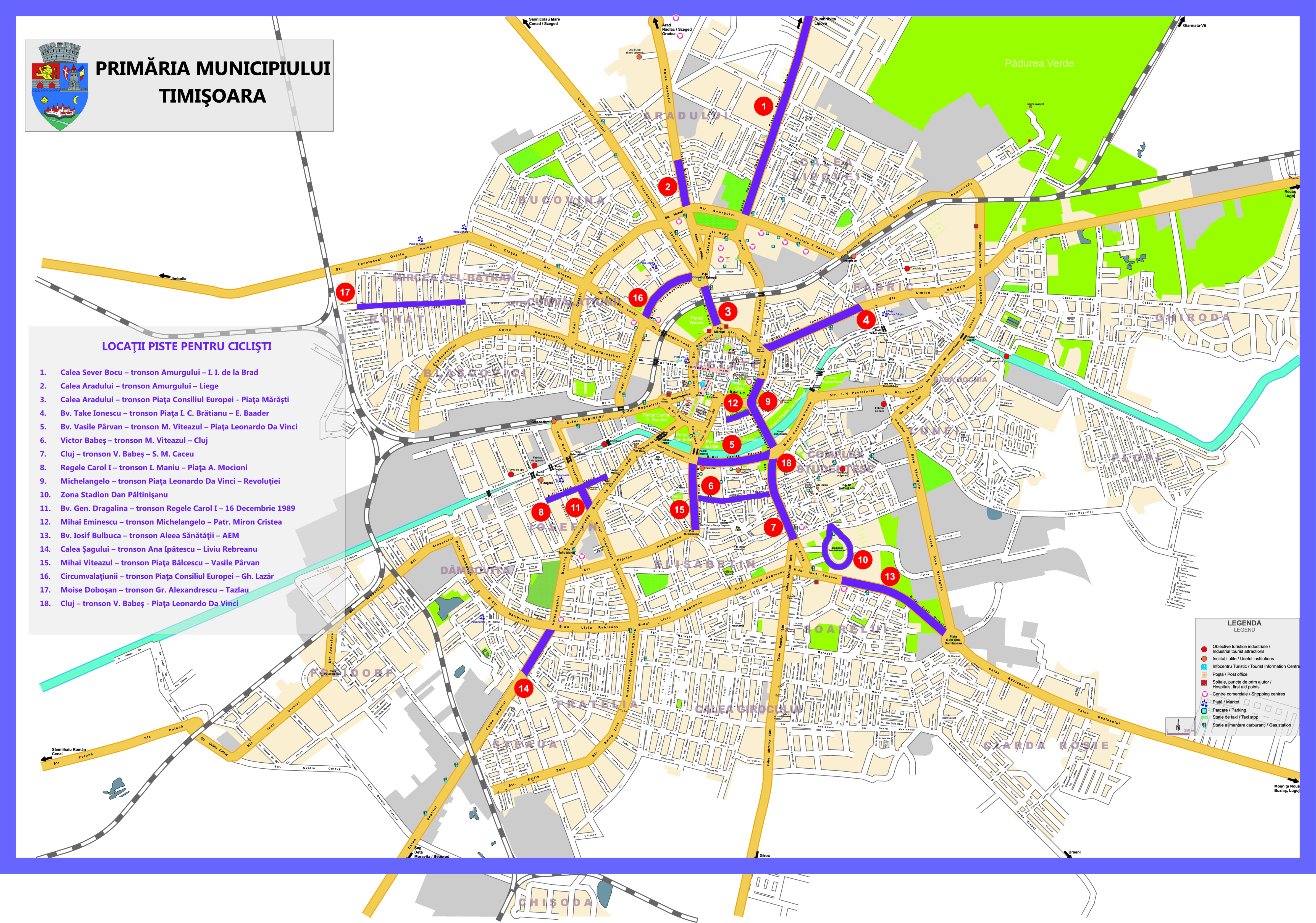 Harta Rutiera Timisoara Markcarteropot