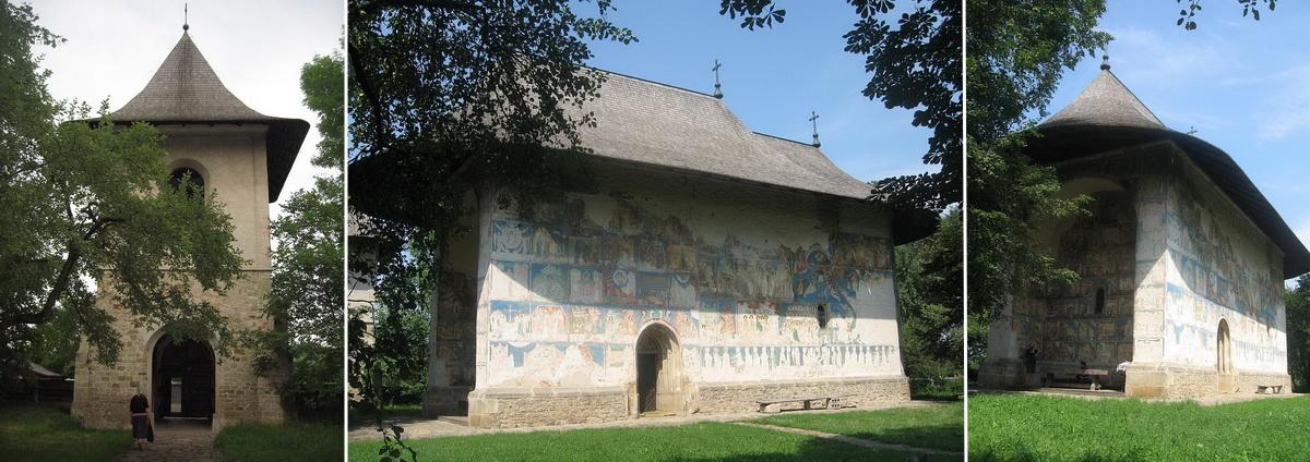 Biserica Arbore - Bukovina - észak-moldvai kolostorok