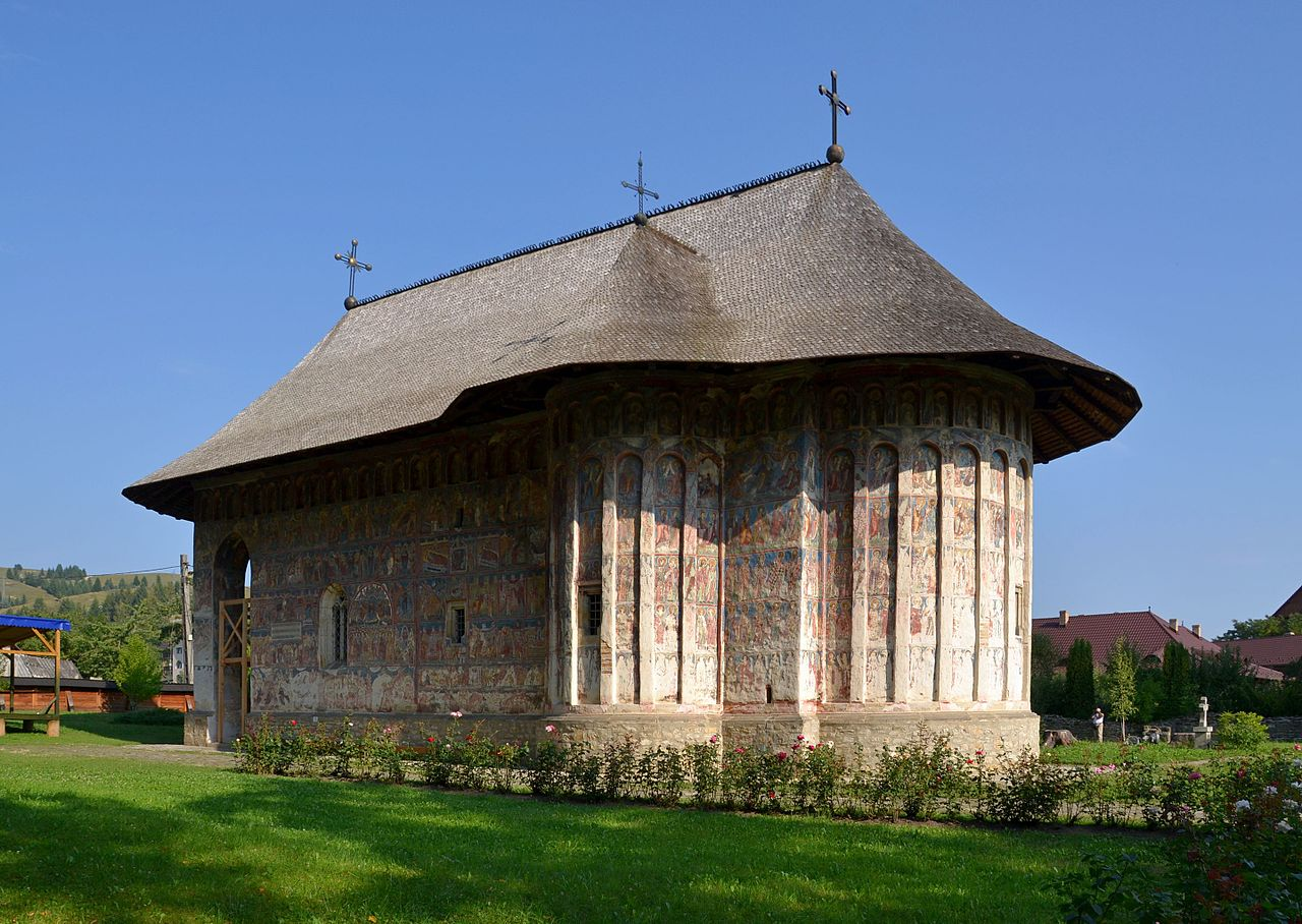 Gura Humorului - Humor-kolostor - Bukovina - észak-moldvai kolostorok