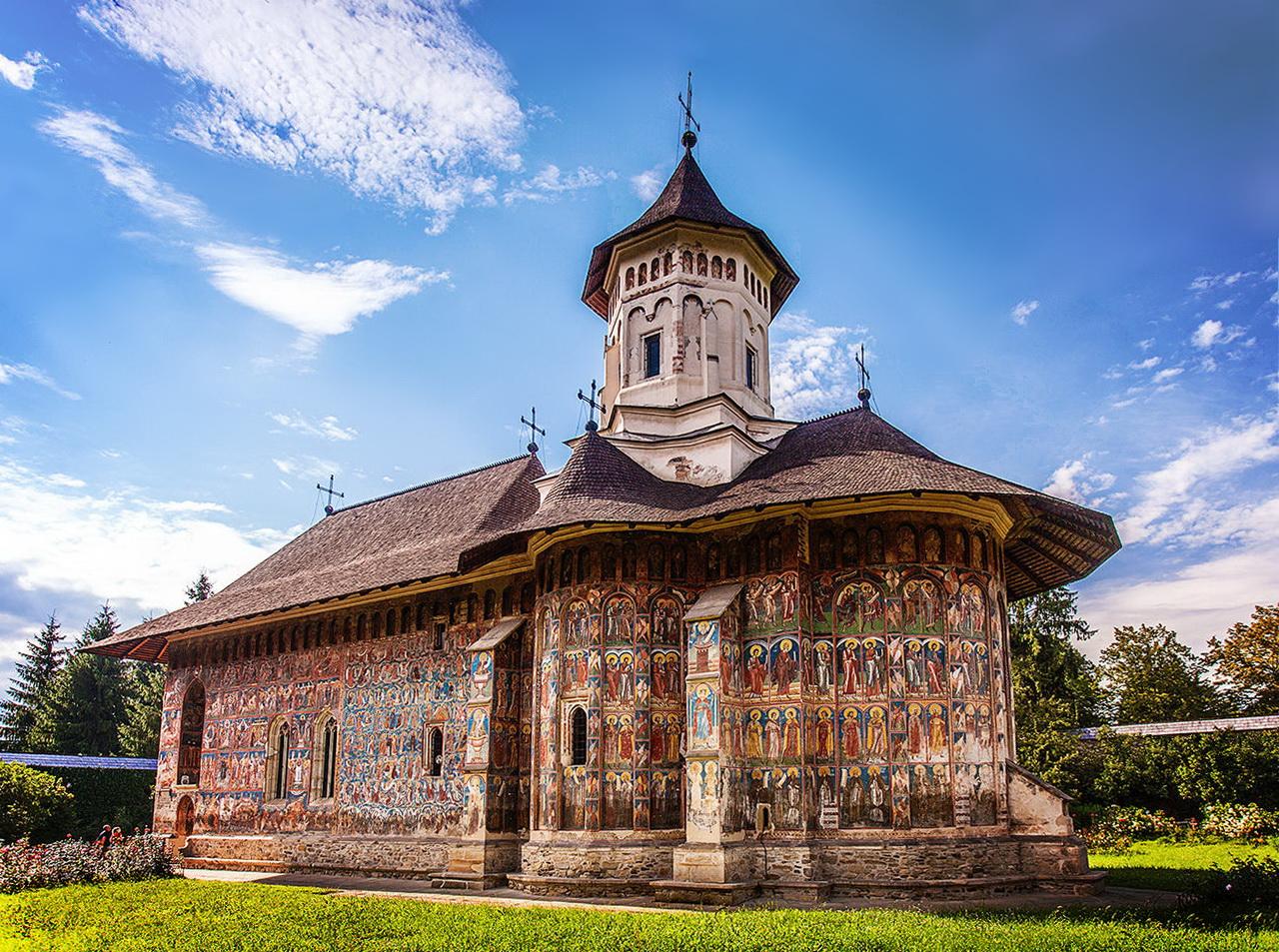 Moldovita-kolostor - Bukovina - észak-moldvai kolostorok