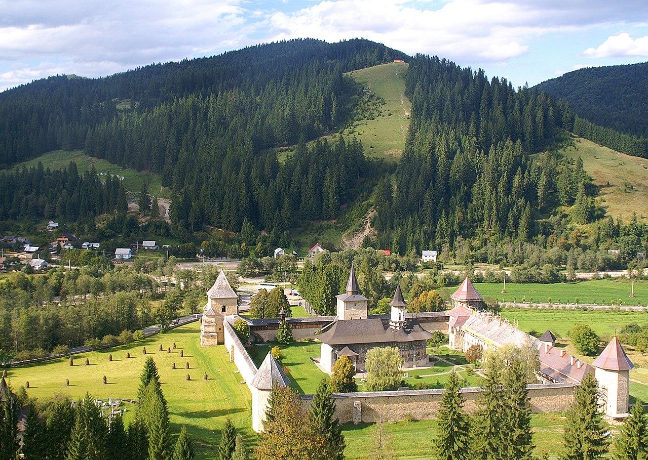 Sucevita-kolostor - Feltámadás-templom - Bukovina - észak-moldvai kolostorok