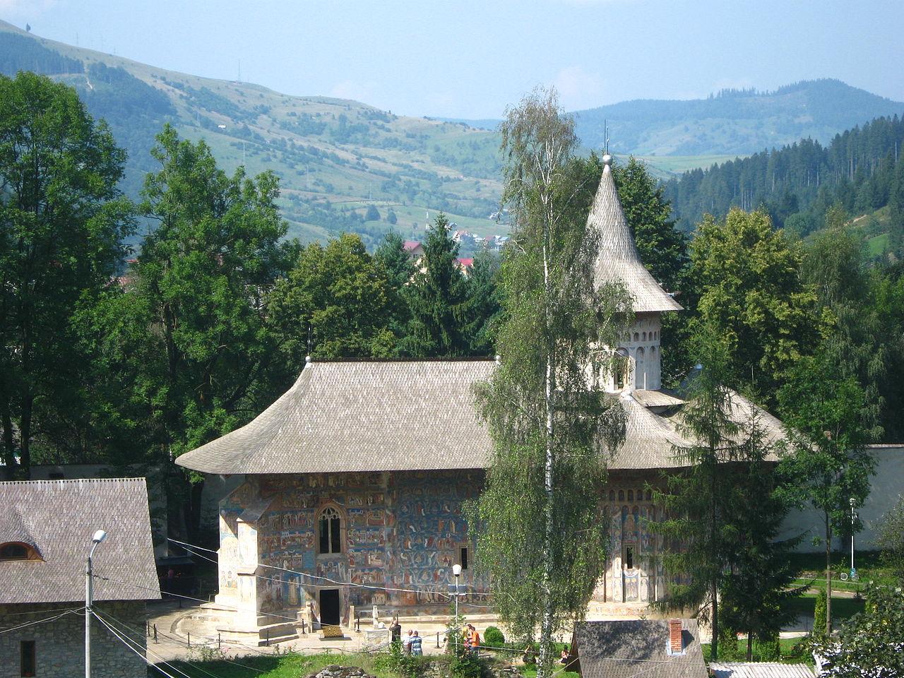 Voronet-kolostor - Szent György Templom - Bukovina - észak-moldvai kolostorok