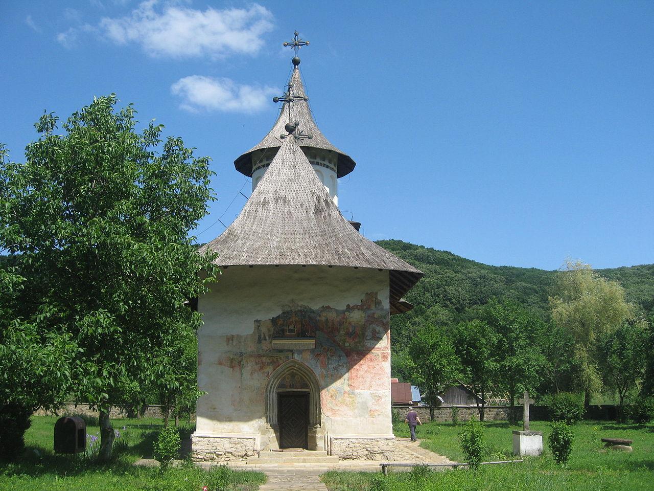 Patrauti-kolostor - Bukovina - észak-moldvai kolostorok
