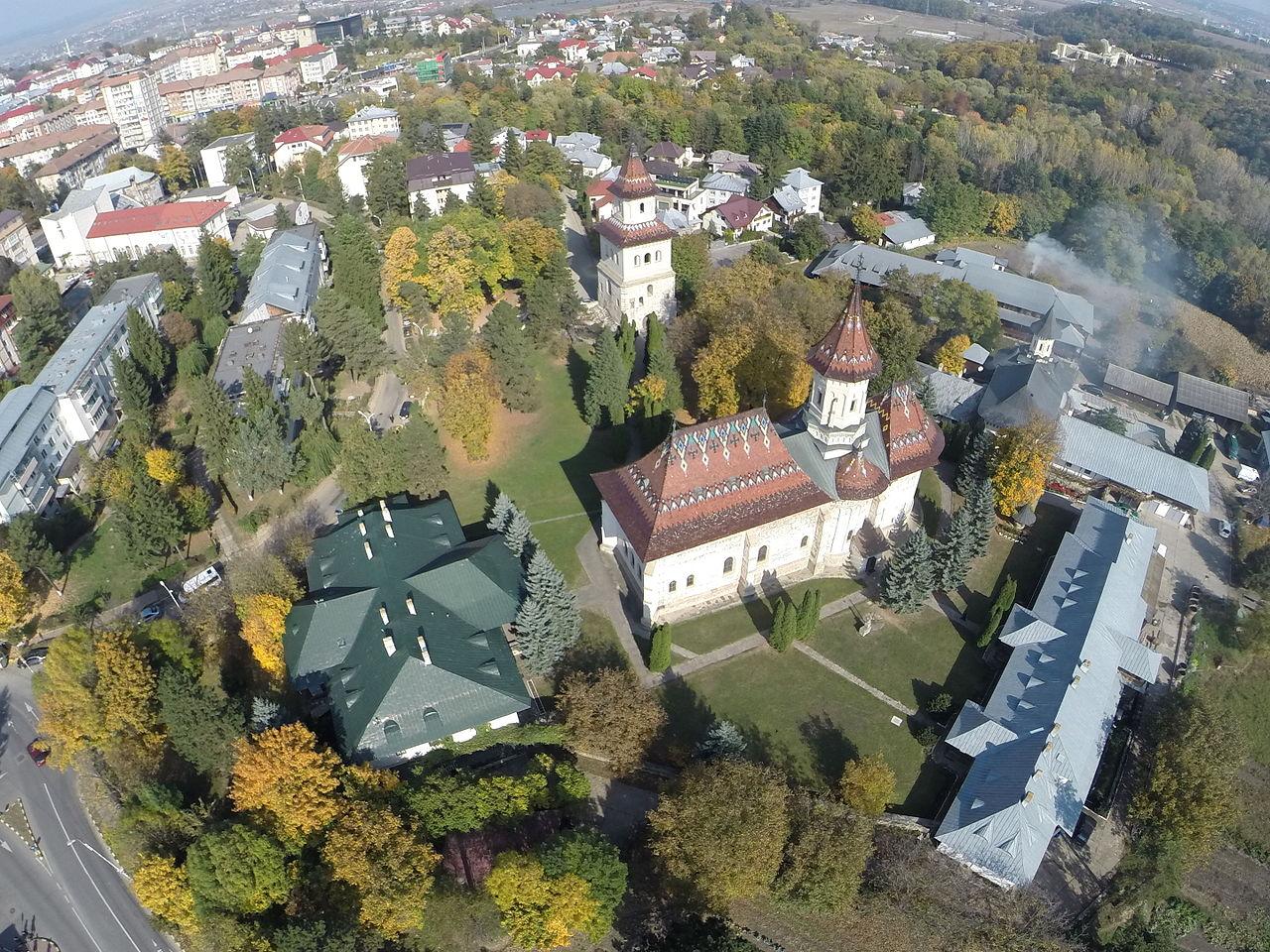 Szucsáva - Szent György-templom a Novi Szent János-kolostorban - Bukovina - észak-moldvai kolostorok