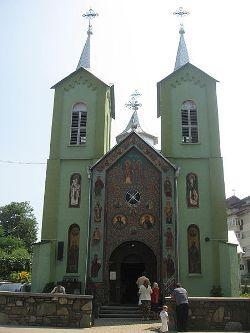 Constantin és Elena Templom Turizmus Szállás Szucsávai Templomok