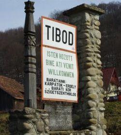 Turizmus Tibód Szállás